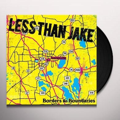 Less Than Jake BORDERS & BOUNDARIES Vinyl Record