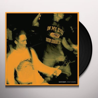 Have Heart WHAT COUNTS Vinyl Record - UK Release