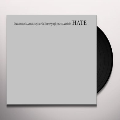 Masonna HATE Vinyl Record
