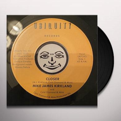 Mike James Kirkland / Cold Diamond / Mink CLOSER Vinyl Record