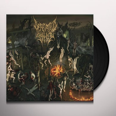 Defeated Sanity CHAPTERS OF REPUGNANCE Vinyl Record