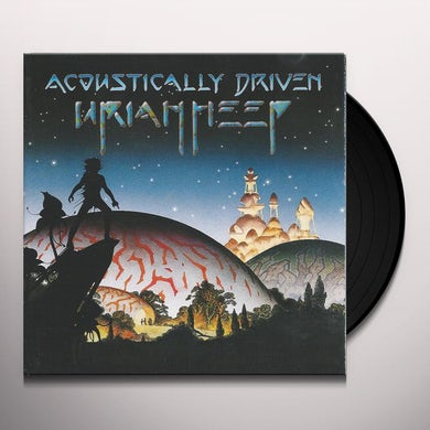 Uriah Heep Acoustically Driven Vinyl Record