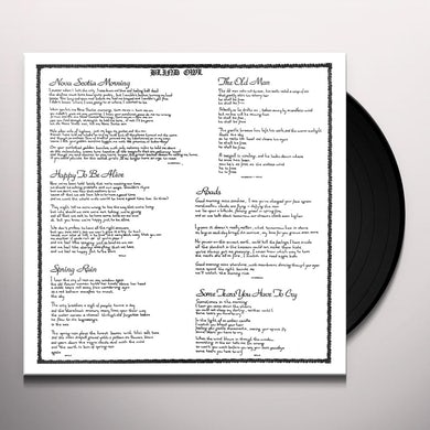Blind Owl Vinyl Record