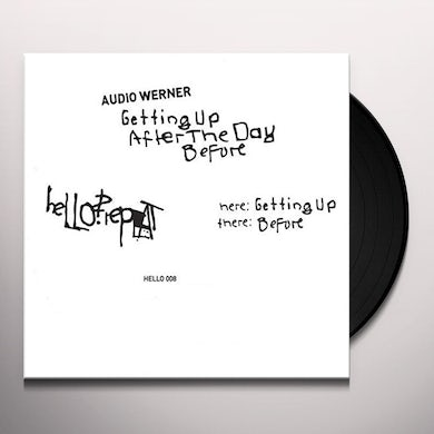 Audio Werner GETTING UP AFTER THE DAY BEFORE Vinyl Record