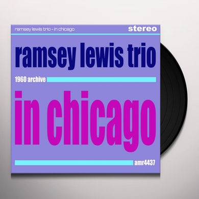 Ramsey Trio Lewis IN CHICAGO Vinyl Record