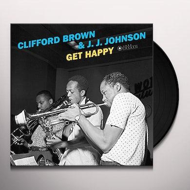 Clifford Brown / J.J. Johnson GET HAPPY Vinyl Record
