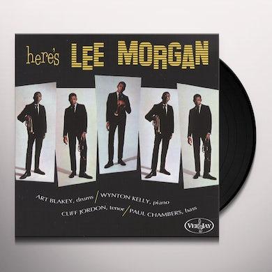 HERE'S LEE MORGAN Vinyl Record