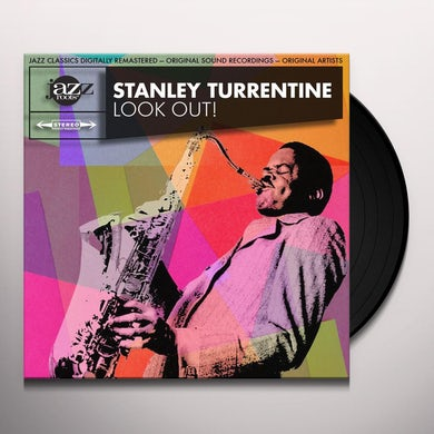 Stanley Turrentine LOOK OUT Vinyl Record
