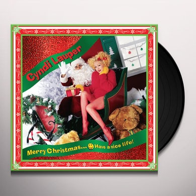 Cyndi Lauper MERRY CHRISTMAS - HAVE A NICE LIFE Vinyl Record