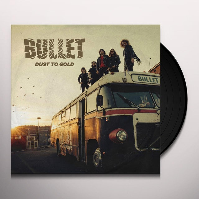 Bullet DUST TO GOLD - Limited Edition 180 Gram Colored Double Vinyl Record