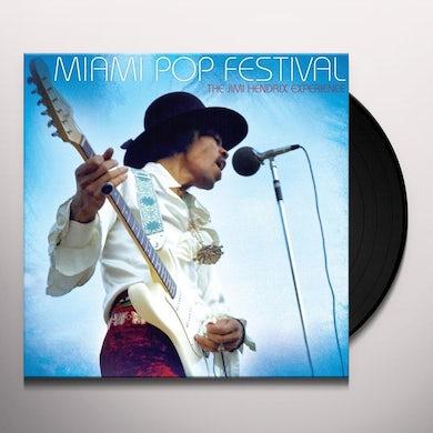 Jimi Hendrix Experience Miami Pop Festival Vinyl Record