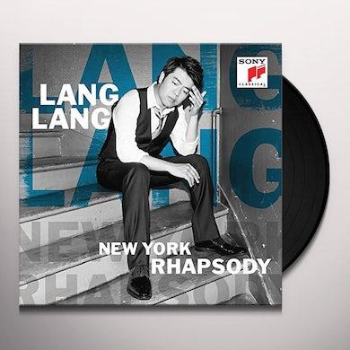 Lang Lang NEW YORK RHAPSODY Vinyl Record