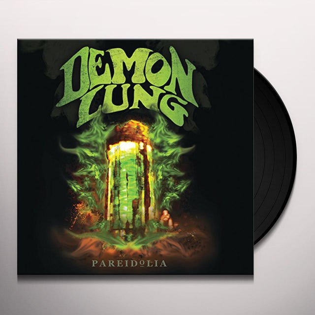 Demon Lung PAREIDOLIA Vinyl Record