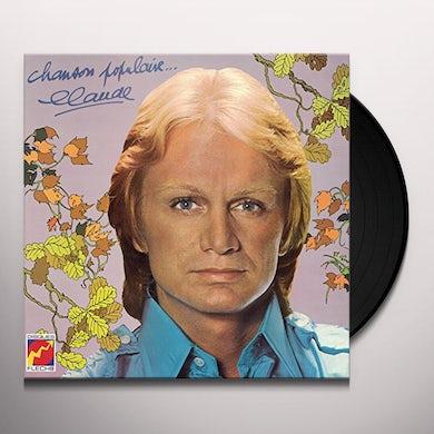 Claude François CHANSON POPULAIRE Vinyl Record