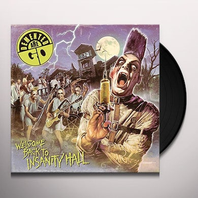 Demented Are Go WELCOME BACK TO INSANITY HALL Vinyl Record