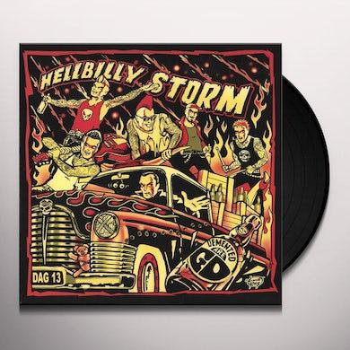 HELLBILLY STORM (SWIRL COLOR VINYL) Vinyl Record