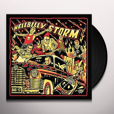 Demented Are Go HELLBILLY STORM Vinyl Record