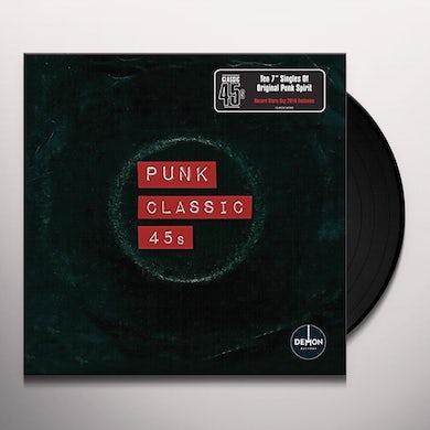 CLASSIC 45'S: PUNK / VARIOUS   CLASSIC 45S: PUNK / VARIOUS Vinyl Record