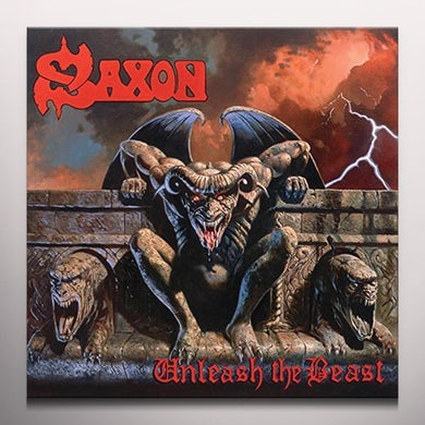 Saxon UNLEASH THE BEAST Vinyl Record