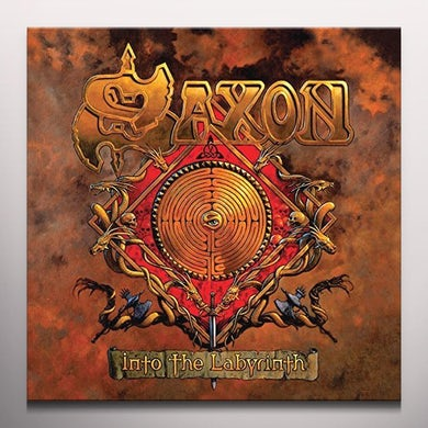 Saxon INTO THE LABYRINTH Vinyl Record
