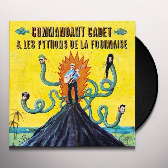 Commandant Cadet & Les Pythons De La Fournaise PREMIE VIRAZ Vinyl Record