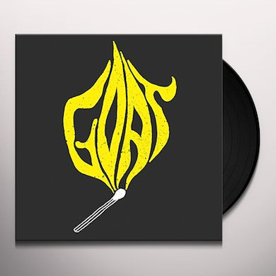 Goat LET IT BURN Vinyl Record