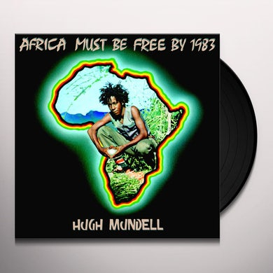 Hugh Mundell AFRICA MUST BE FREE BY 1983 Vinyl Record