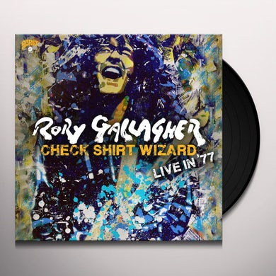 Rory Gallagher CHECK SHIRT WIZARD - LIVE IN 77 Vinyl Record