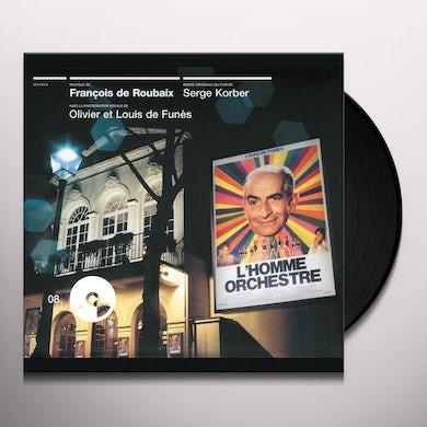 Francois De Roubaix L'HOMME ORCHESTRE Vinyl Record