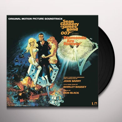 DIAMONDS ARE FOREVER / Original Soundtrack Vinyl Record