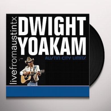 Dwight Yoakam LIVE FROM AUSTIN TX Vinyl Record