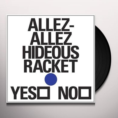 Allez Allez HIDEOUS RACKET EP Vinyl Record