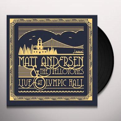 Matt Andersen LIVE AT OLYMPIC HALL Vinyl Record
