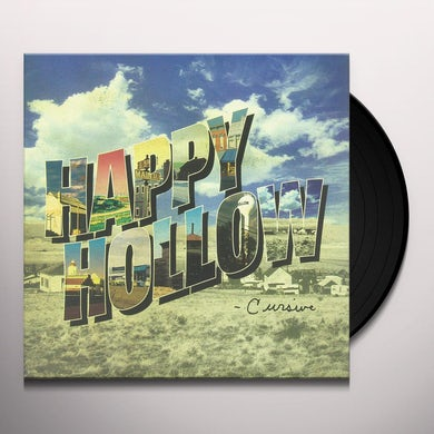 Cursive HAPPY HOLLOW Vinyl Record