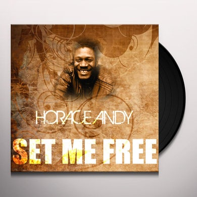 Horace Andy SET ME FREE Vinyl Record