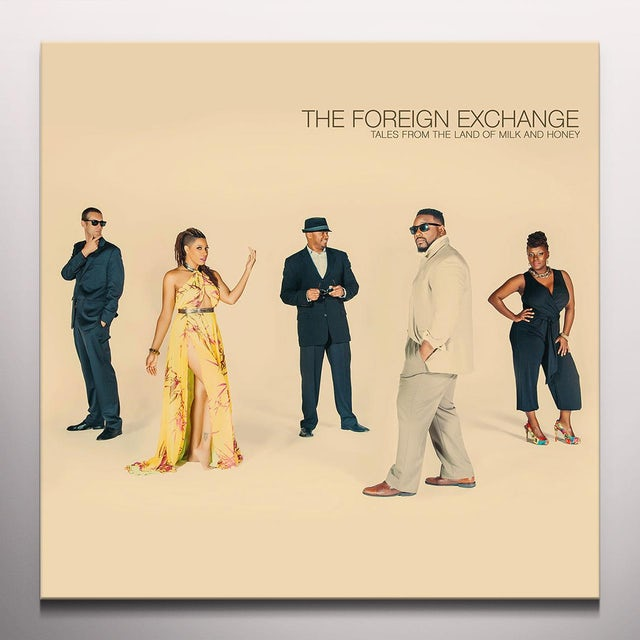 Foreign Exchange TALES FROM THE LAND OF MILK & HONEY Vinyl Record