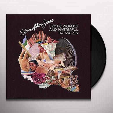 Stimulator Jones EXOTIC WORLDS AND MASTERFUL TREASURES (DL CODE) Vinyl Record