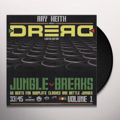 Ray Keith DREAD JUNGLE BREAKS Vinyl Record