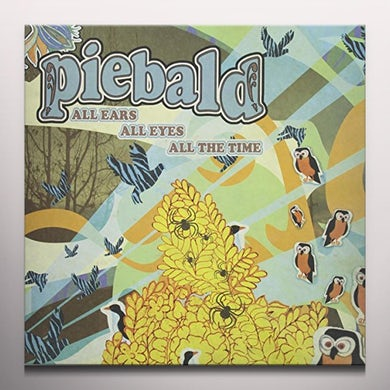 Piebald ALL EARS ALL EYES ALL THE TIME Vinyl Record