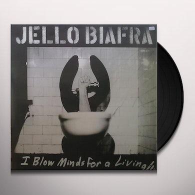 Jello Biafra I BLOW MINDS FOR A LIVING / SPOKEN WORD ALBUM DBL Vinyl Record
