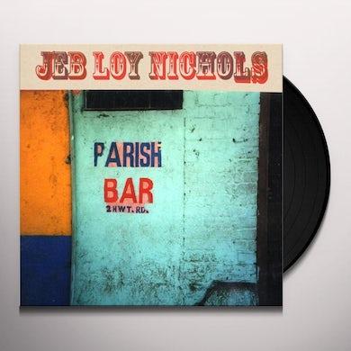 Jeb Loy Nichols PARISH BAR Vinyl Record