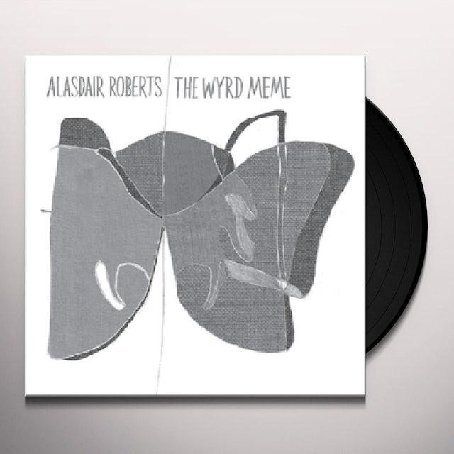 Alasdair Roberts WYRD MEME Vinyl Record