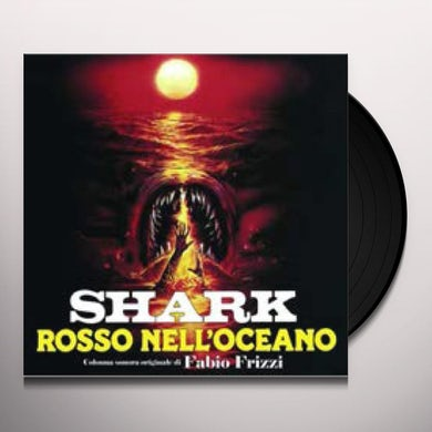 Fabio Frizzi SHARK ROSSO NELL'OCEANO Vinyl Record