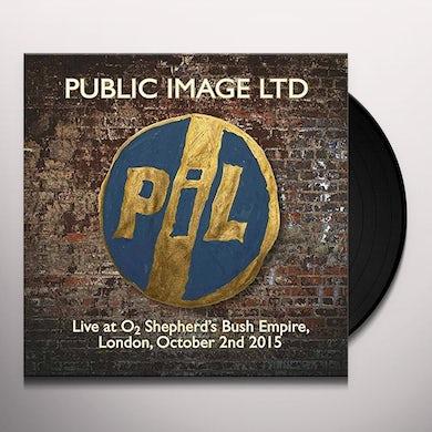 Public Image Ltd LIVE AT O2 SHEPHERDS BUSH EMPIRE Vinyl Record - Italy Release