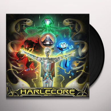 Danny L Harle HARLECORE (YELLOW WITH BLACK SPLATTER VINYL) Vinyl Record