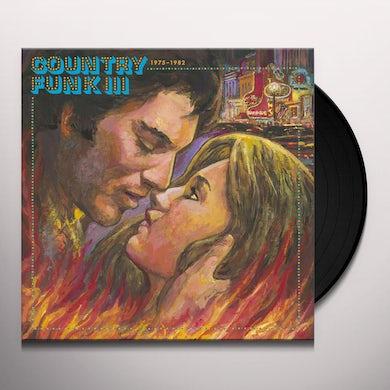 Various Artists     COUNTRY FUNK VOL. 3 1975-1982 / VARIOUS Vinyl Record