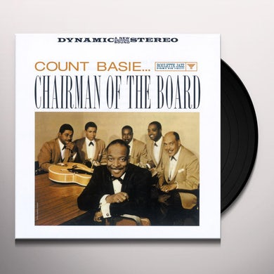 Count Basie CHAIRMAN OF THE BOARD Vinyl Record