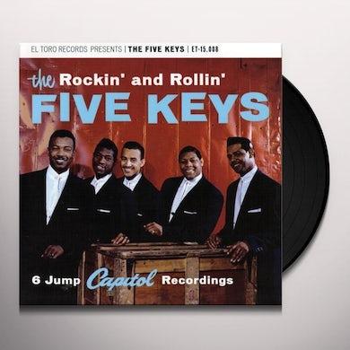 Five Keys ROCKIN' & ROLLIN'-6 JUMP CAPITOL RECORDINGS Vinyl Record
