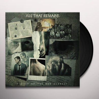 All That Remains VICTIM OF THE NEW DISEASE Vinyl Record