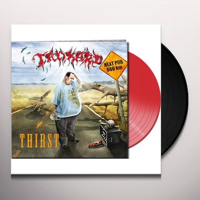 Tankard THIRST (CLEAR RED VINYL) Vinyl Record